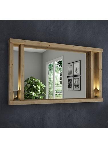 222 Concept Dream Masif Ağaç Natural Renk 75x45 cm Ayna CPT2315-75 Kahve